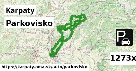 Parkovisko, Karpaty