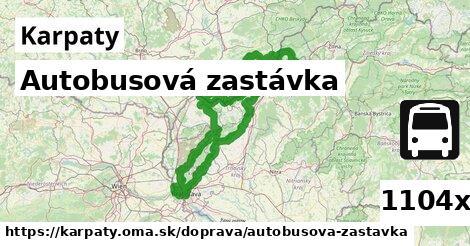 Autobusová zastávka, Karpaty