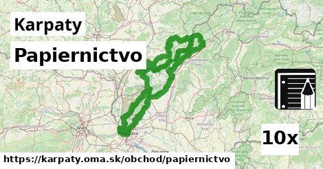 ilustračný obrázok k Papiernictvo, Karpaty