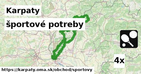 ilustračný obrázok k športové potreby, Karpaty
