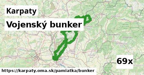 ilustračný obrázok k Vojenský bunker, Karpaty