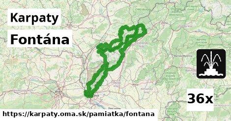 ilustračný obrázok k Fontána, Karpaty