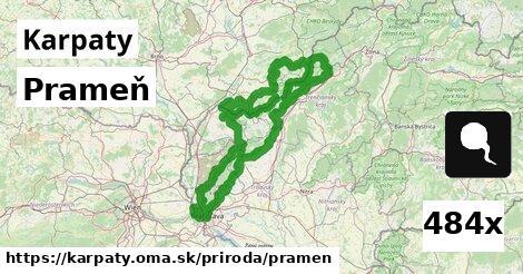 ilustračný obrázok k Prameň, Karpaty