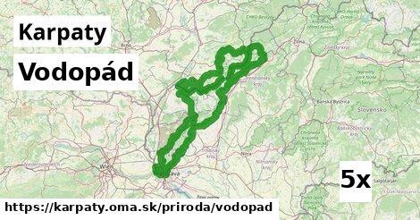 ilustračný obrázok k Vodopád, Karpaty