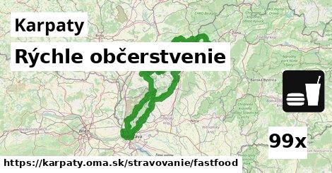ilustračný obrázok k Rýchle občerstvenie, Karpaty