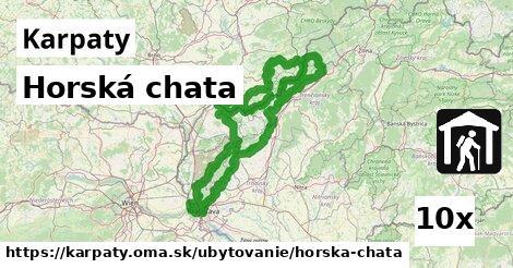 ilustračný obrázok k Horská chata, Karpaty