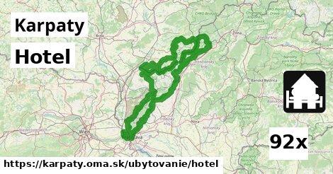 ilustračný obrázok k Hotel, Karpaty