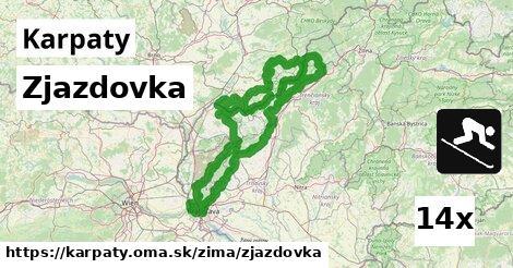 ilustračný obrázok k Zjazdovka, Karpaty