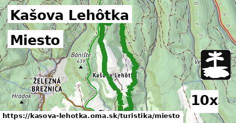 miesto v Kašova Lehôtka