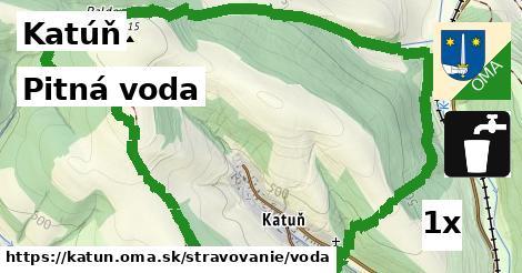 pitná voda v Katúň