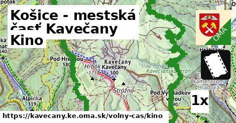 kino v Košice - mestská časť Kavečany