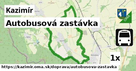 ilustračný obrázok k Autobusová zastávka, Kazimír