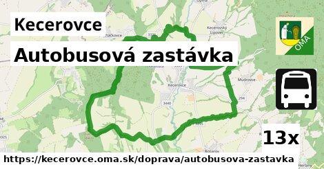 ilustračný obrázok k Autobusová zastávka, Kecerovce