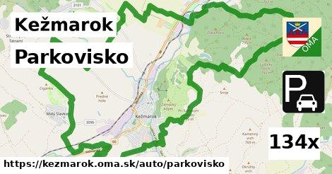 parkovisko v Kežmarok