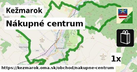 Nákupné centrum, Kežmarok