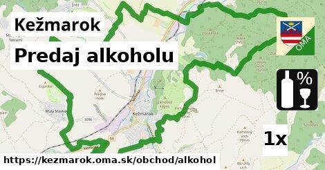 predaj alkoholu v Kežmarok