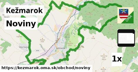 noviny v Kežmarok