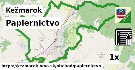 papiernictvo v Kežmarok