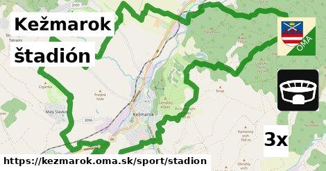 štadión v Kežmarok