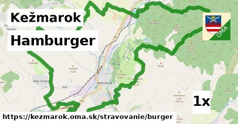 hamburger v Kežmarok