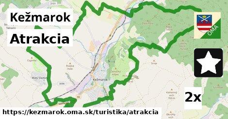 atrakcia v Kežmarok