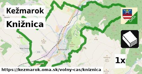 knižnica v Kežmarok