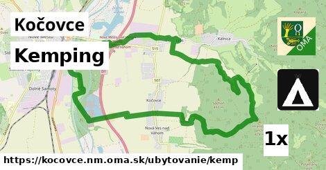 ilustračný obrázok k Kemping, Kočovce, okres NM