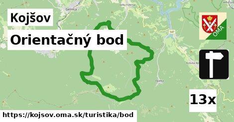 orientačný bod v Kojšov