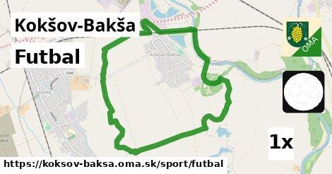 ilustračný obrázok k Futbal, Kokšov-Bakša
