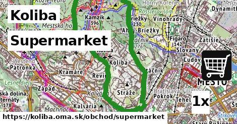 supermarket v Koliba