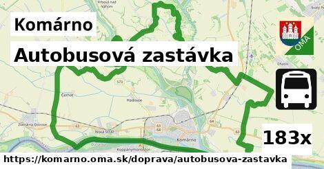 ilustračný obrázok k Autobusová zastávka, Komárno