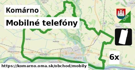 ilustračný obrázok k Mobilné telefóny, Komárno
