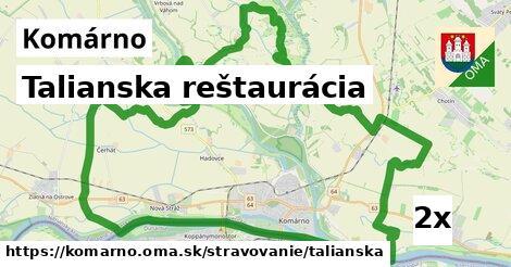 ilustračný obrázok k Talianska reštaurácia, Komárno