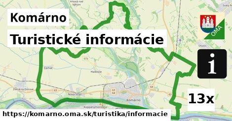 ilustračný obrázok k Turistické informácie, Komárno
