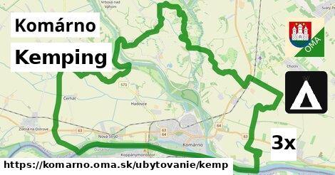 ilustračný obrázok k Kemping, Komárno