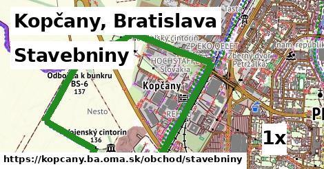 stavebniny v Kopčany, Bratislava