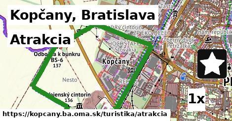 atrakcia v Kopčany, Bratislava