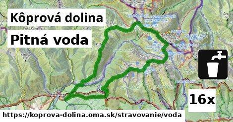 pitná voda v Kôprová dolina