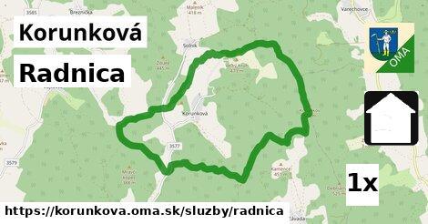 ilustračný obrázok k Radnica, Korunková