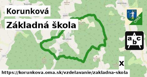 ilustračný obrázok k Základná škola, Korunková
