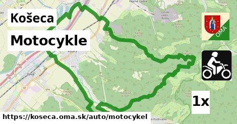 motocykle v Košeca