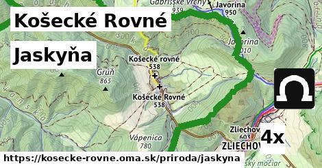 jaskyňa v Košecké Rovné