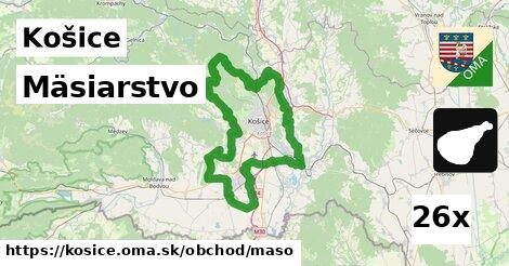 ilustračný obrázok k Mäsiarstvo, Košice