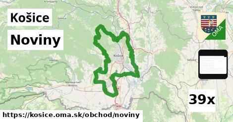 ilustračný obrázok k Noviny, Košice
