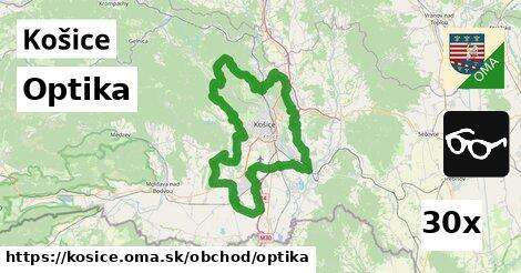 ilustračný obrázok k Optika, Košice