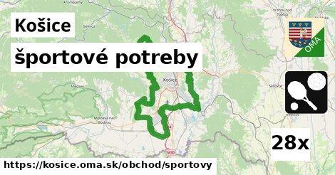 ilustračný obrázok k športové potreby, Košice