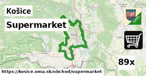 ilustračný obrázok k Supermarket, Košice