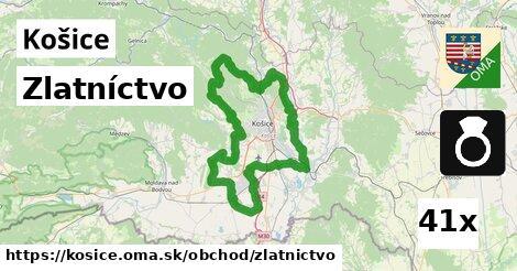 ilustračný obrázok k Zlatníctvo, Košice