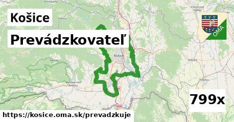 prevádzkovateľ v Košice