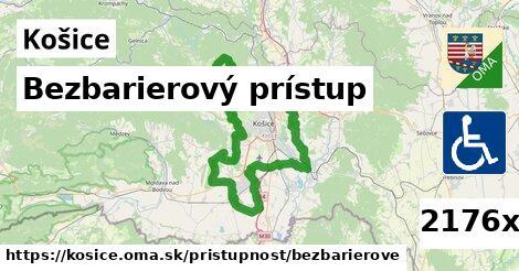 bezbarierový prístup v Košice